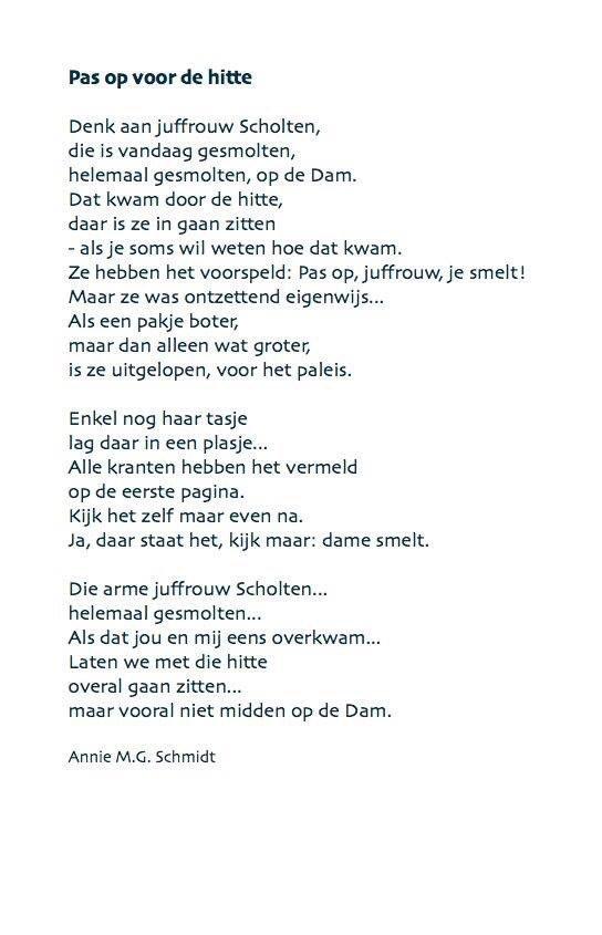 Davan Wijnen On Twitter Leuk Gedicht Van Annie Httpst