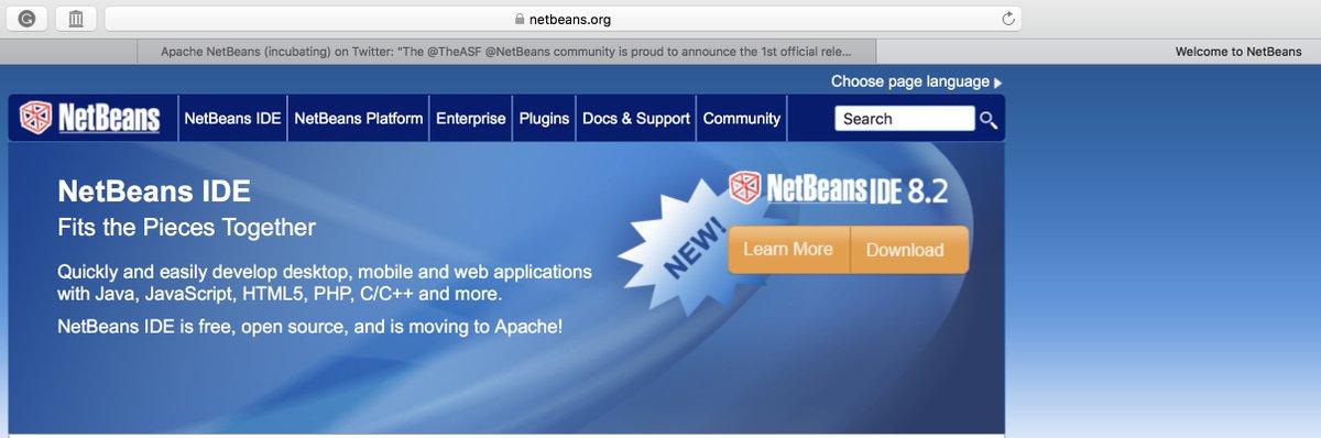 Apache NetBeans on Twitter: