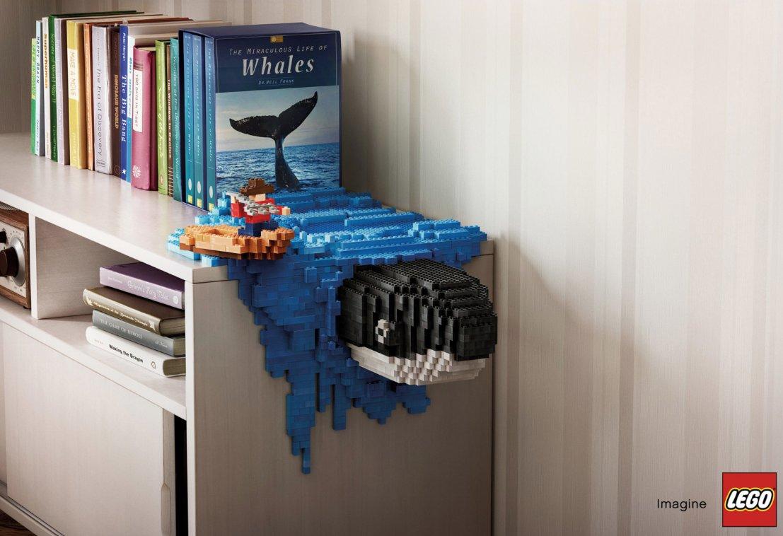 #LEGO souhaite depuis le début être au plus proche des rêves d'#enfants. Avec cette campagne conçue par Asawin Tejasakulsin, Lego mêle rêve et r…