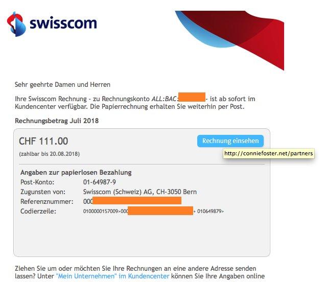 Swisscom On Twitter Persönliche Anrede Und Links Die Nur Auf
