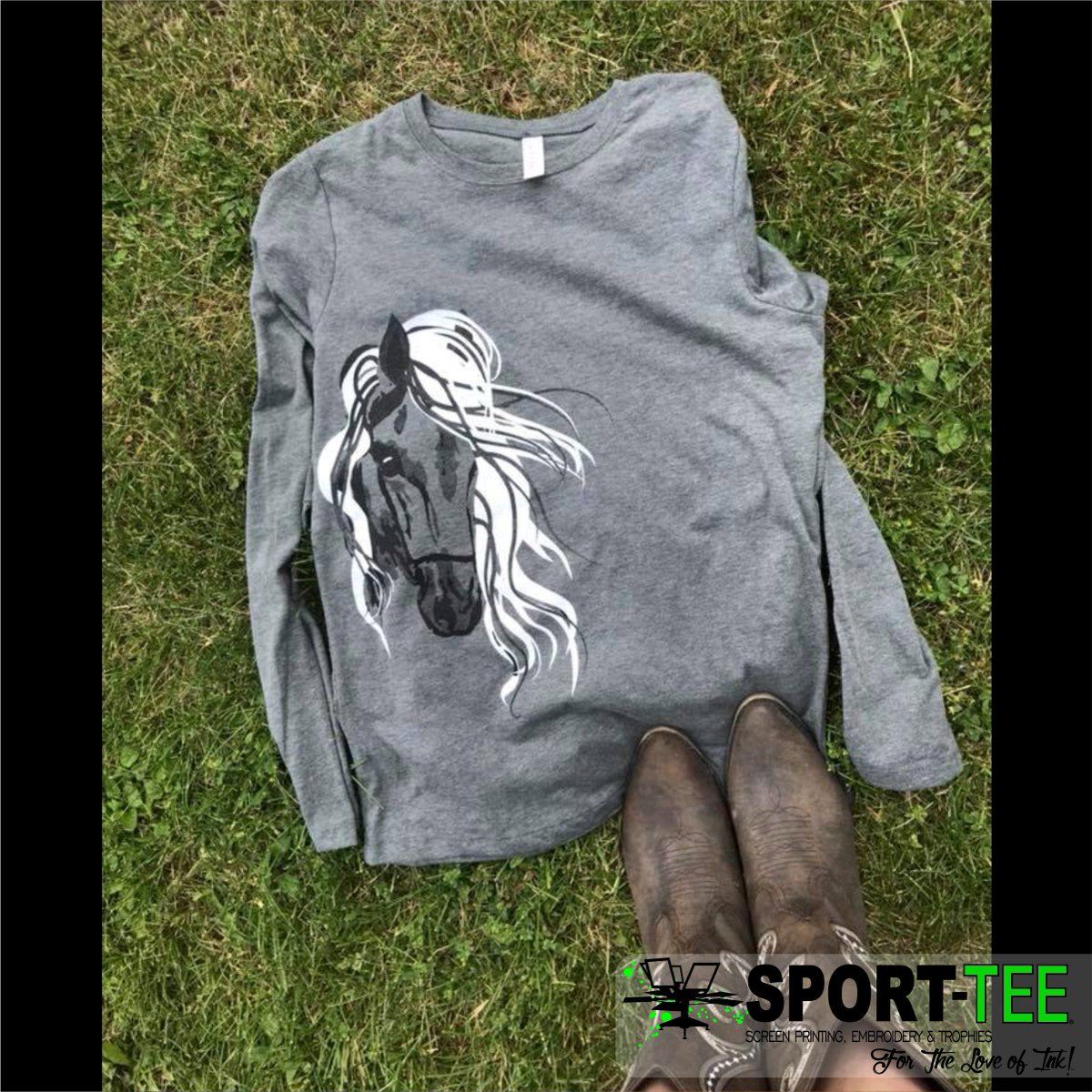 Sport Tee On Twitter Who Doesnt Love Horses Cowboy Boots