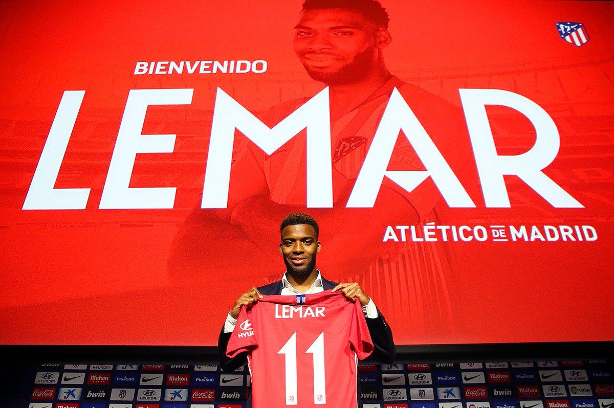 Camiseta Atlético de Madrid Thomas