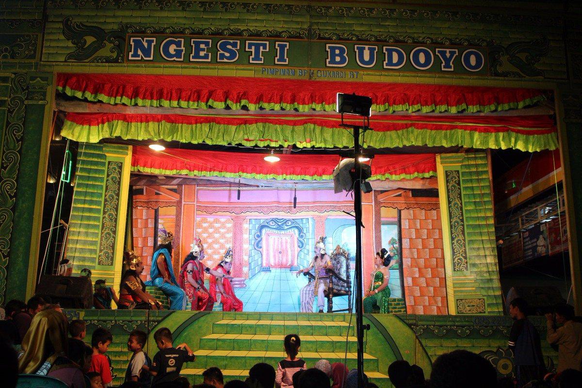 Ngesti Budoyo di acara Sedekah Bumi