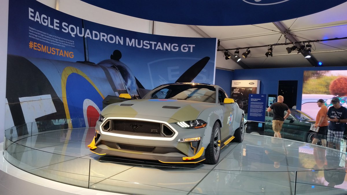 Adam Badger On Twitter 2018 At Ford Eagle Squadron Mustang