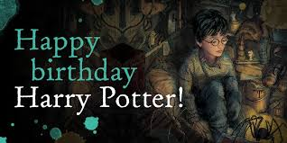 A Very Happy Birthday To Harry Potter - The Boy Who Lived and The Chosen One!!!