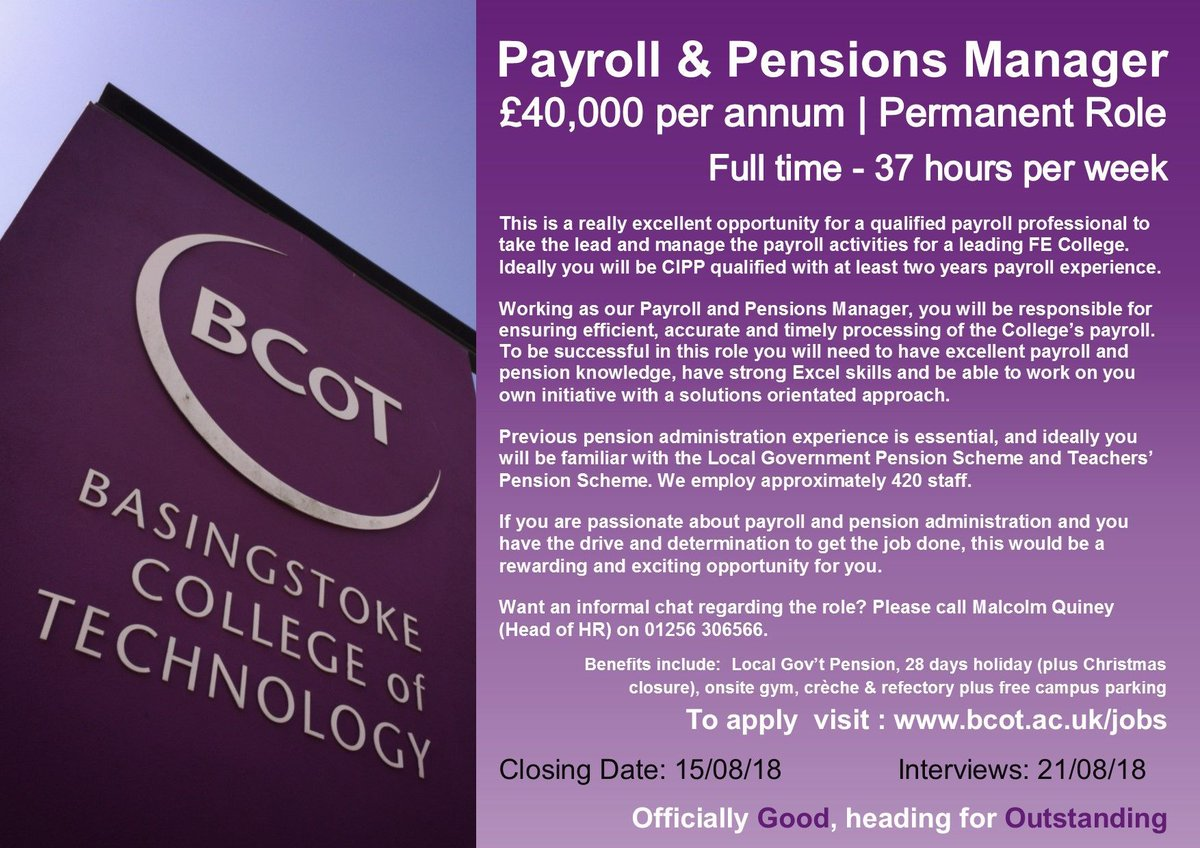 Basingstoke College of Technology on Twitter: