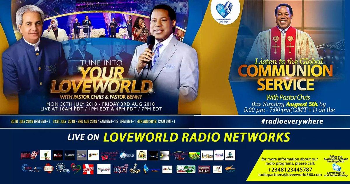 Loveworld Radio on Twitter: