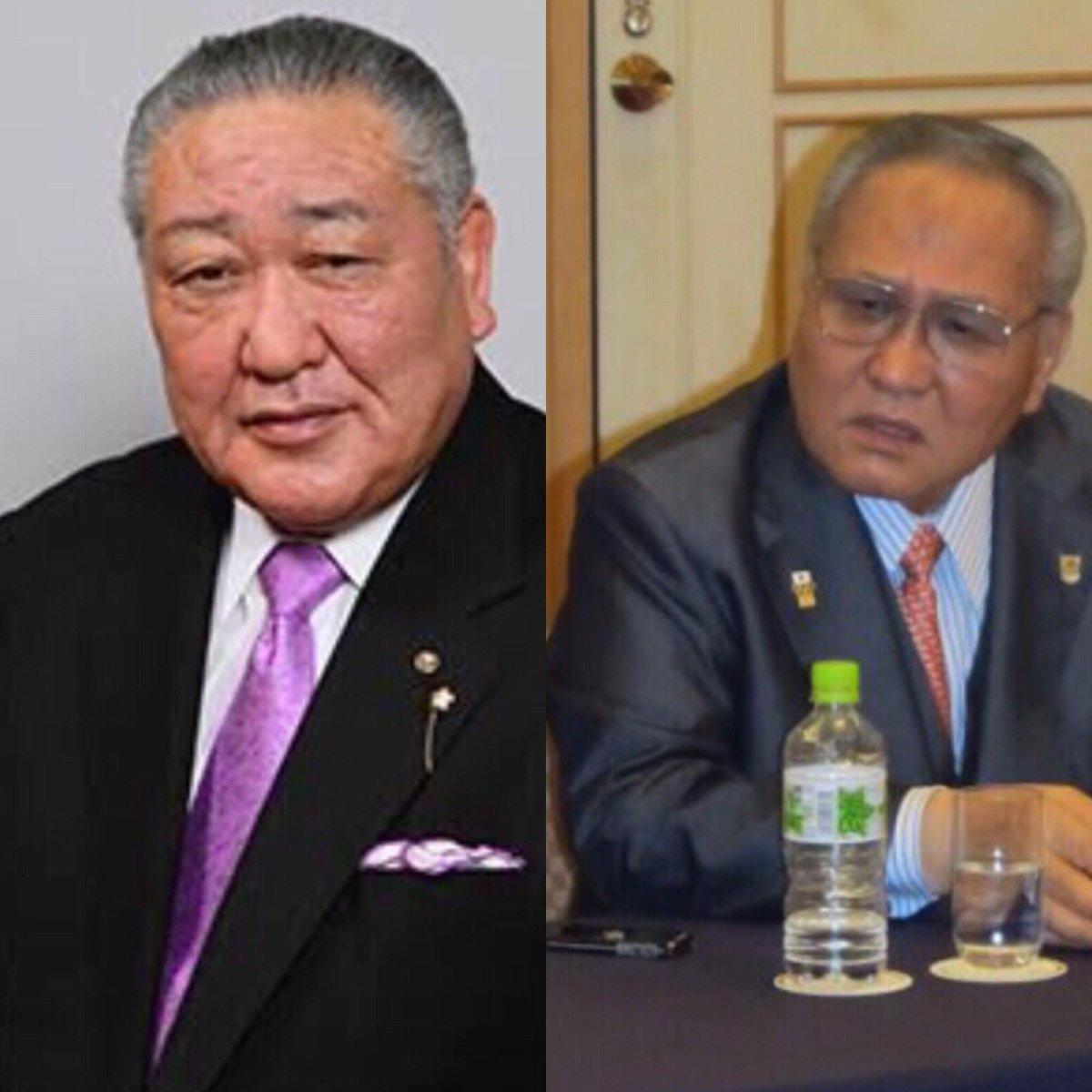 おゃ?報道テレビを見ていたら日大の田中理事長(左)と日本ボクシング連盟の山根終身会長(右)の893っぽい雰囲気が似ていることに気づいたのは私だけか?強面が支配する世界#日本大学 #田中理事長 #日本ボクシング連盟…