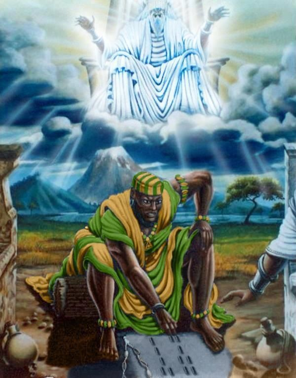 a look into yoruba mythology and yoruba religion The original prophets in yoruba religion-ability to look into the future 55 orisa yoruba teaches that 100s of orisa were first inhabitants on earth-lesser deities in yoruba religion 56 oshun yoruba godess 57 medium individual who has become possed 58 divination used to communicate with spirits-the attempt to predict the future through supernatural agents or powers 59 ifa divination system of.