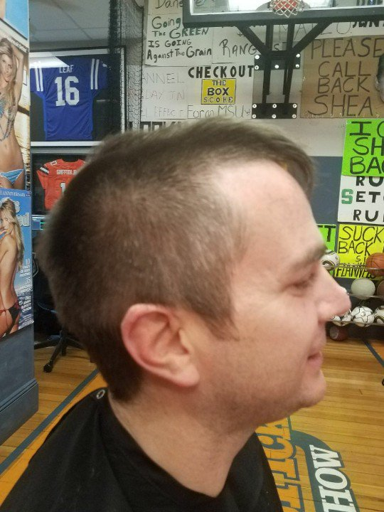Paul Pabst On Twitter The Mannix Haircut At The Halfway Point