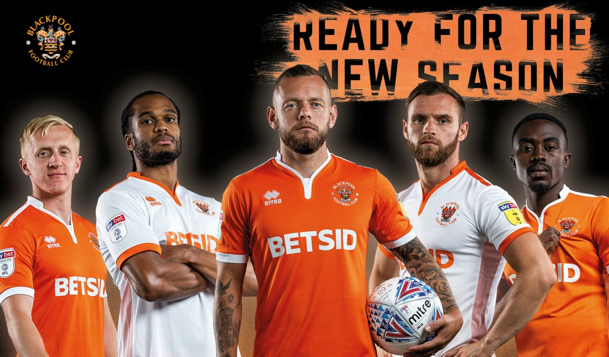 Blackpool Fc On Twitter Club Reveals New Home Kit And Sponsor With Betsidshops Agreeing A Three Year Deal Https T Co Zbzuypq2ez Https T Co 9kiv10wcwa