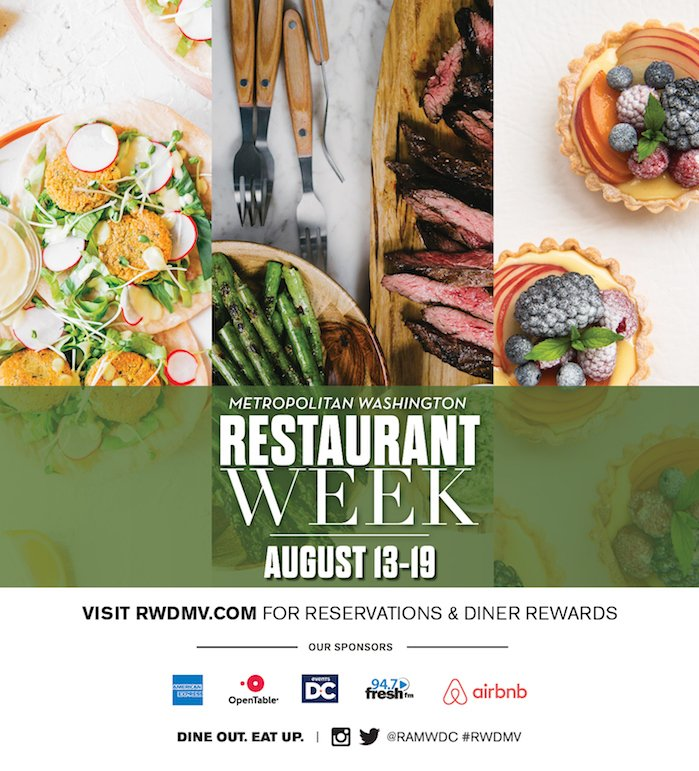 RAMW On Twitter RestaurantWeek Waterfront What More Do You - Open table restaurant week dc