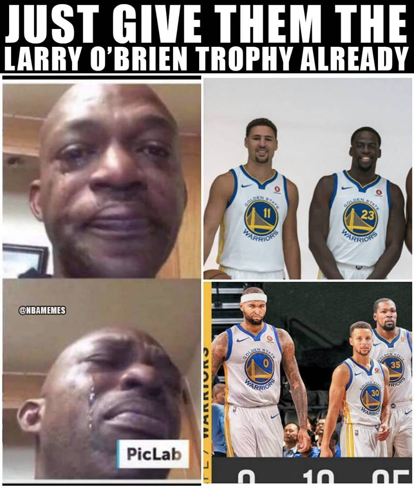 "2019 Memes: NBA Memes On Twitter: ""2018-2019 Champs.…"