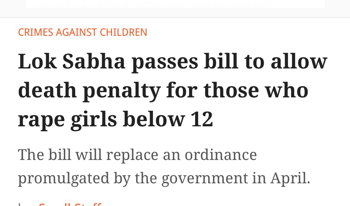 Unfair. 13-yr-olds at bigger risk now, as they will be preferred by rapists. All rapists should be hanged!