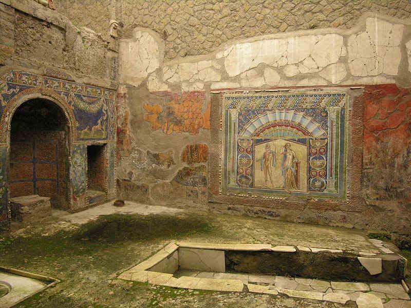 Herculaneum, House of Neptune via @italia #travel #art #italy #beautyfromitaly https://t.co/7dzRuABSjZ