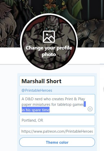 picture regarding Printable Heroes Patreon named Marshall Limited upon Twitter: \