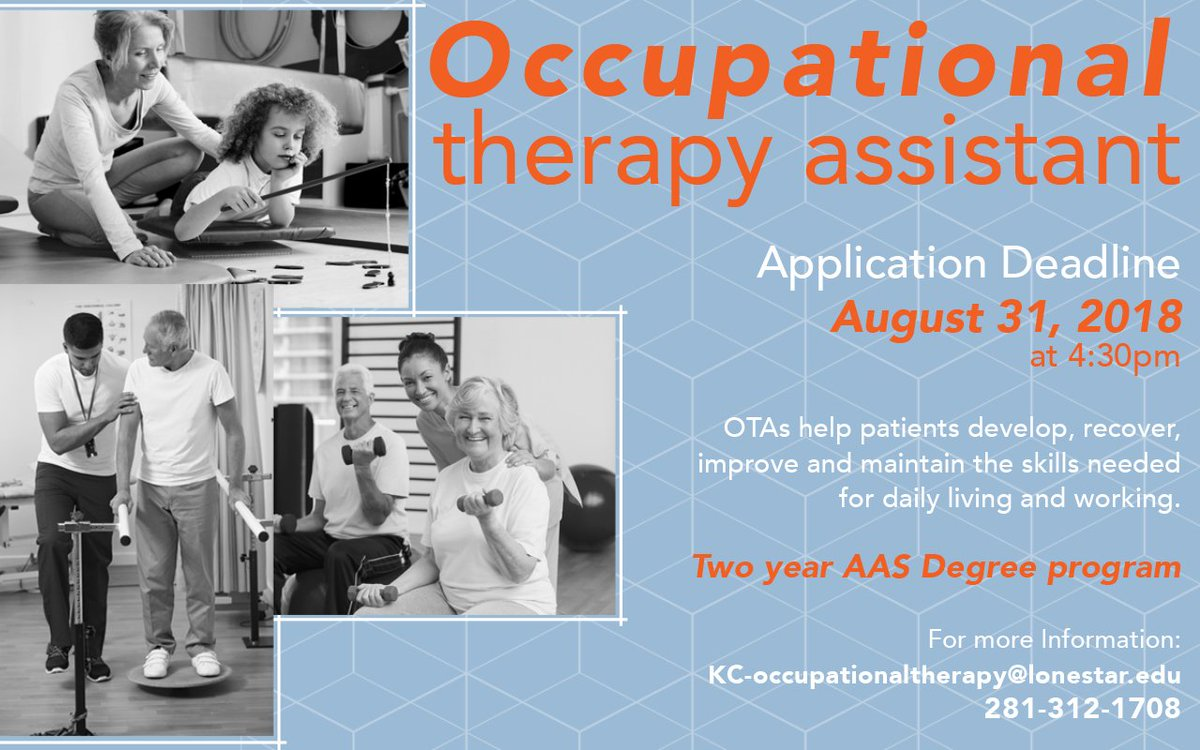 Lsc Kingwood On Twitter Apply For To Become An Occupational