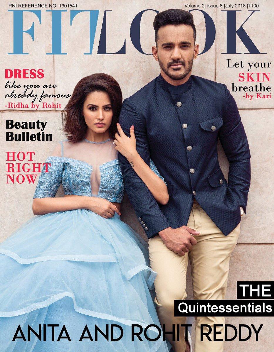 July cover shoot @fitlookmagazine  with Truly Amazing couple  @anitahassanandani @rohitreddygoa  Founder: @mohitkathuria_  Photographer: @tanmay_studio Anita's Outfit: @ridha_rohitarora  Rohit's Outfit : @mrfox Stylist: @natashaabothra  #actordaires #magazinecover  #AnitaRohit pic.twitter.com/e4uFStb0rs