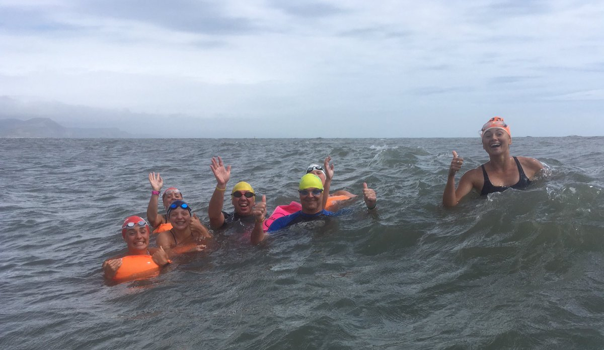 Enjoying Our Summerholiday Tauntonschool And Wishing Lewispugh Better Weather As He Crosses Lyme Bay On His Thelongswim This Week Pic Twitter Com