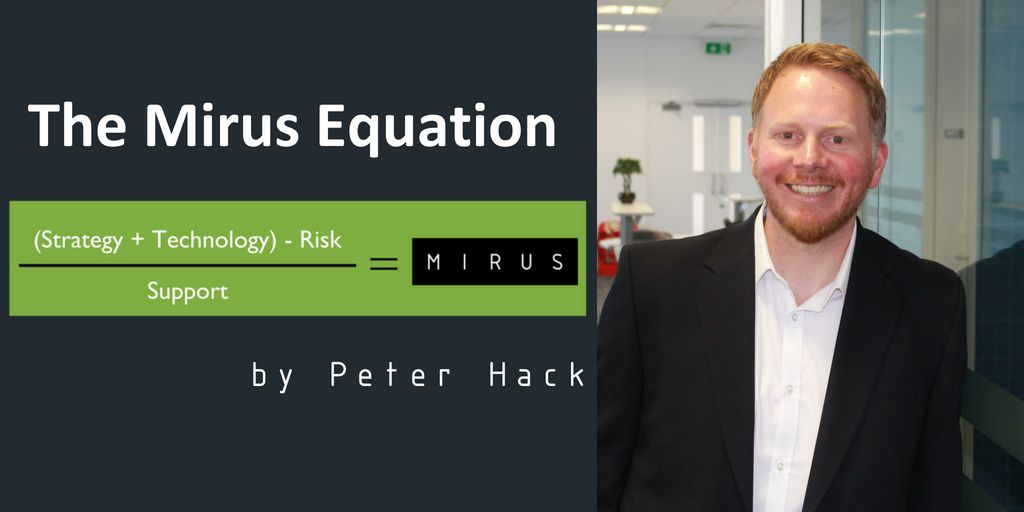 Of An Equation MTeam Mirus Itcouk Blog The By Peter Hack ManagedIT MSP MirusIT PeterHack