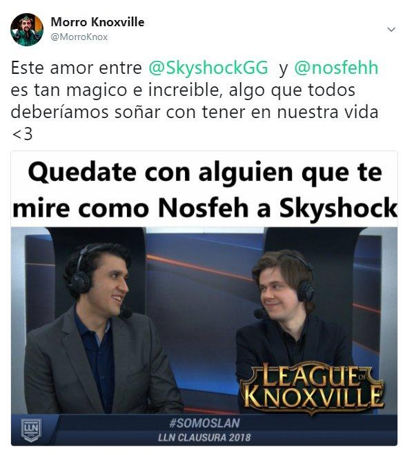eso es cariño puro, @SkyshockGG @nosfehh , creditos a @MorroKnox