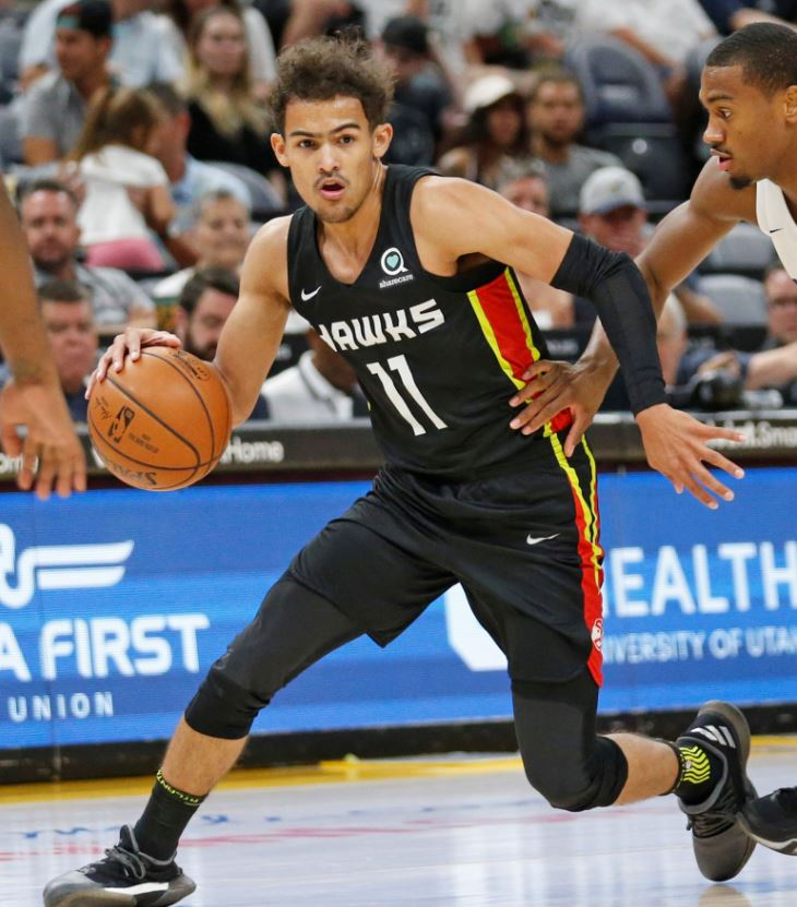 Image result for trae young atlanta hawks