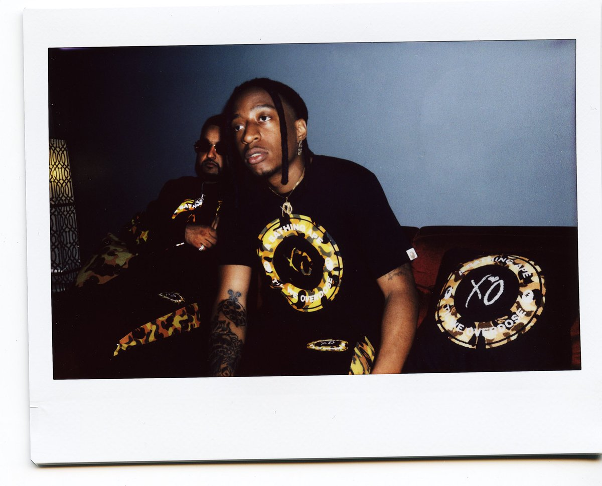 the weeknd merchandise on twitter bape x xo available on august
