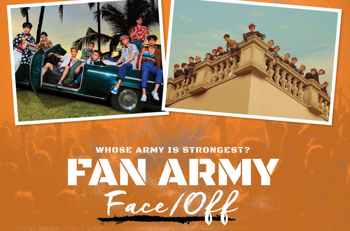 #FanArmyFaceOff: EXO's #EXOL vs. NCT's #NCTzen in round two https://t.co/uXvrisAlCi