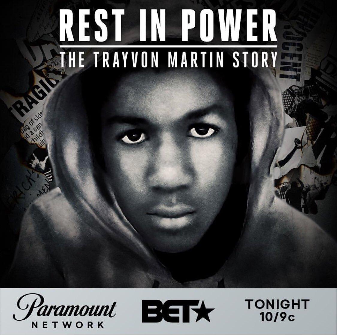 trayvon martin movie on bet tonight
