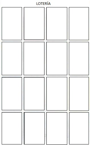 I Made Everyone A Free Loteria Template Because Couldn T Find One