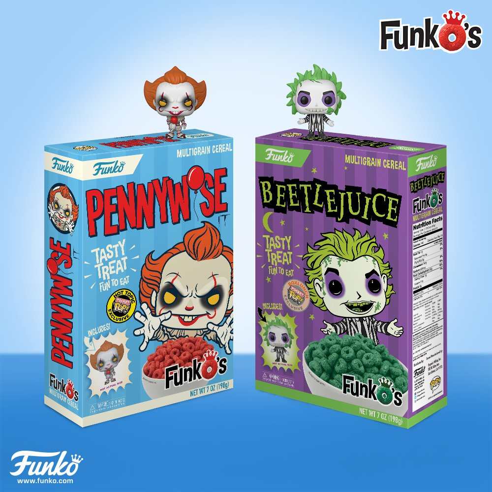"""Funko On Twitter: """"Coming Soon: FunkO's Cereal Wave 2"""