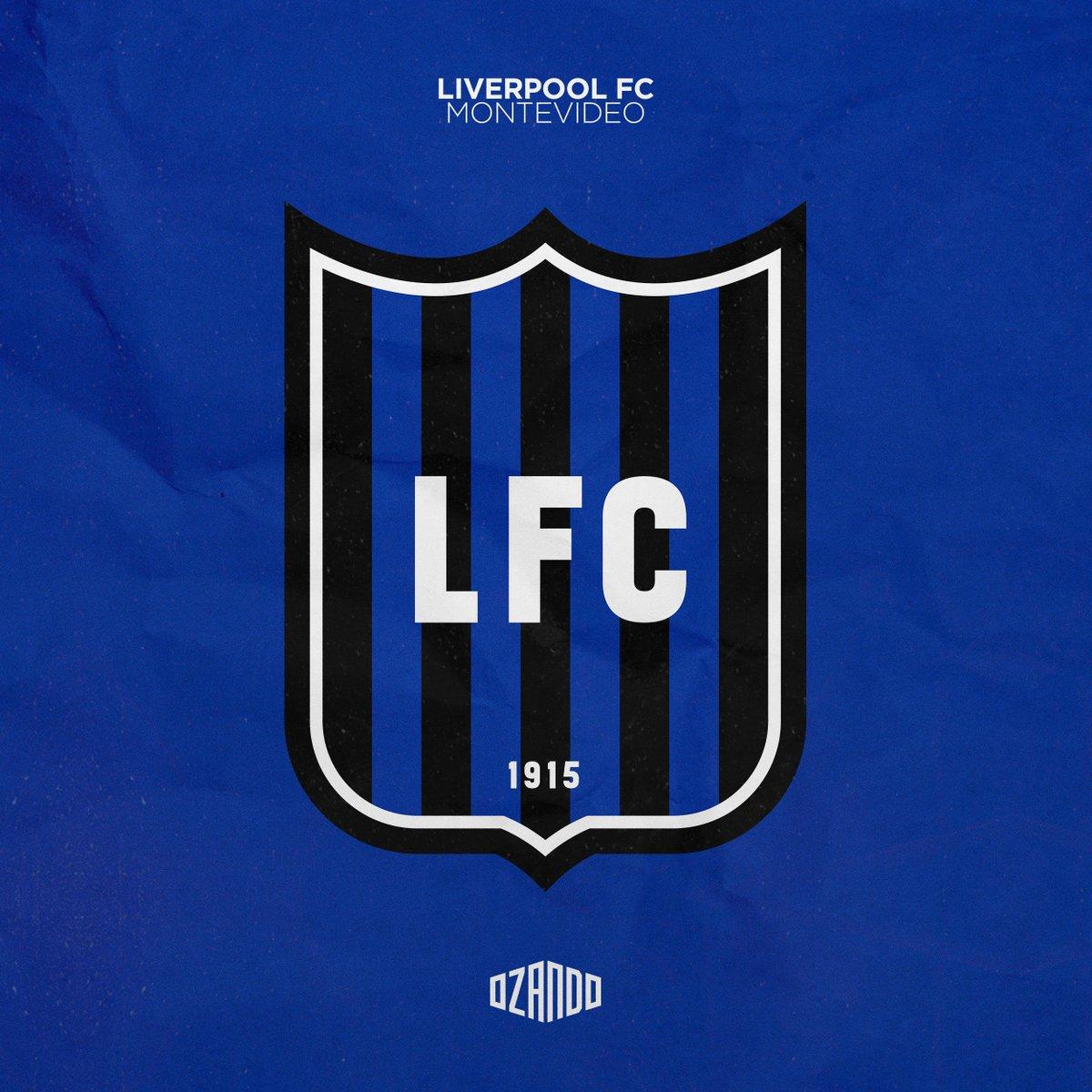 Ozando On Twitter Liverpool Fc Montevideo Crest Crcw 119 Designfootball Liverpoolfc1915
