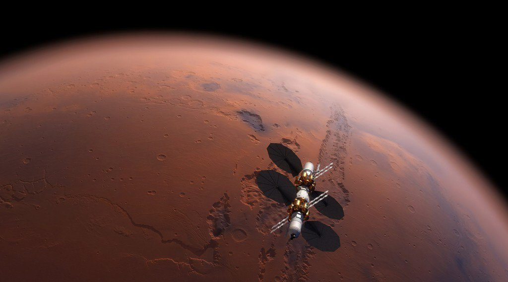 Sorry, Elon. There's not enough CO2 to terraform Mars: https://t.co/wZOzU4g6kD