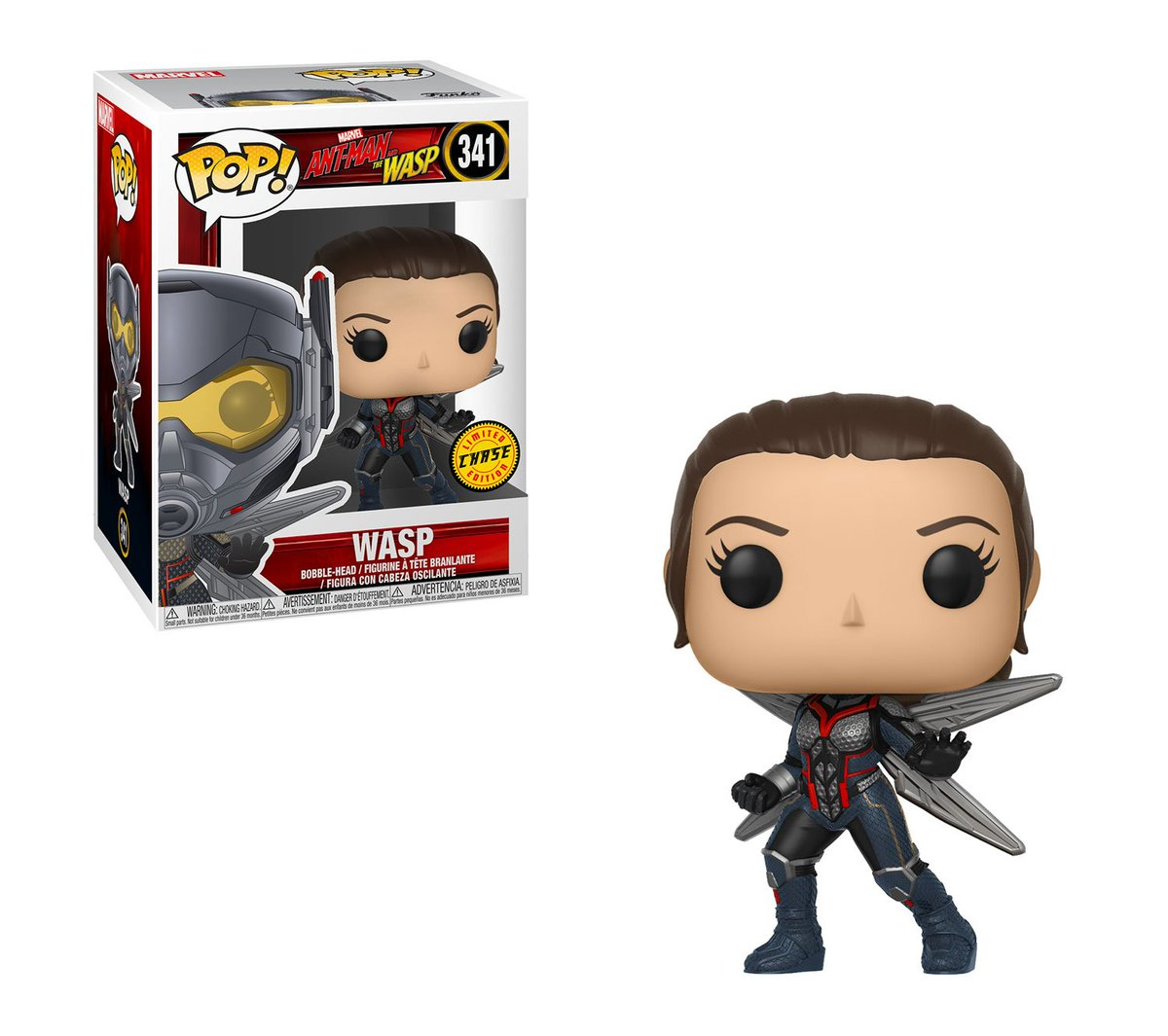 RT & follow @OriginalFunko for a chance to WIN a #AntManandtheWasp CHASE Wasp Pop!