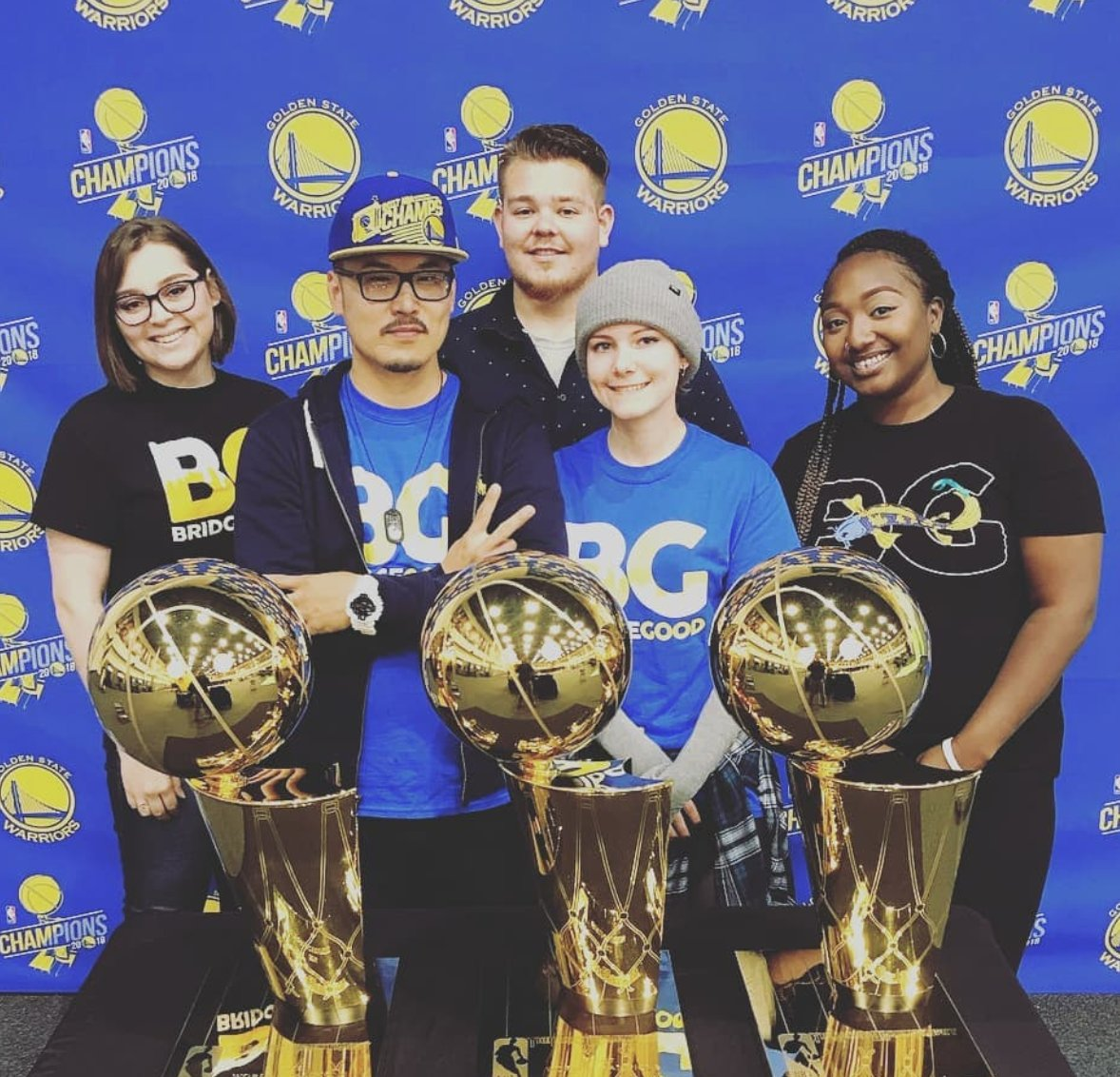 BIG TINGS with #BRIDGEGOOD + #OAKLANDDIGITAL  Take time to be thankful of experiences and memories we build, together. #Team @OaklandDigital + @BRIDGEGOOD | #ODsquadd x #BGsquadd x #DubNation  x #WarriorsGround x #GoldenState x #Warriors x  http://www. bridgegood.com  &nbsp;  <br>http://pic.twitter.com/qTIF3xVpeD