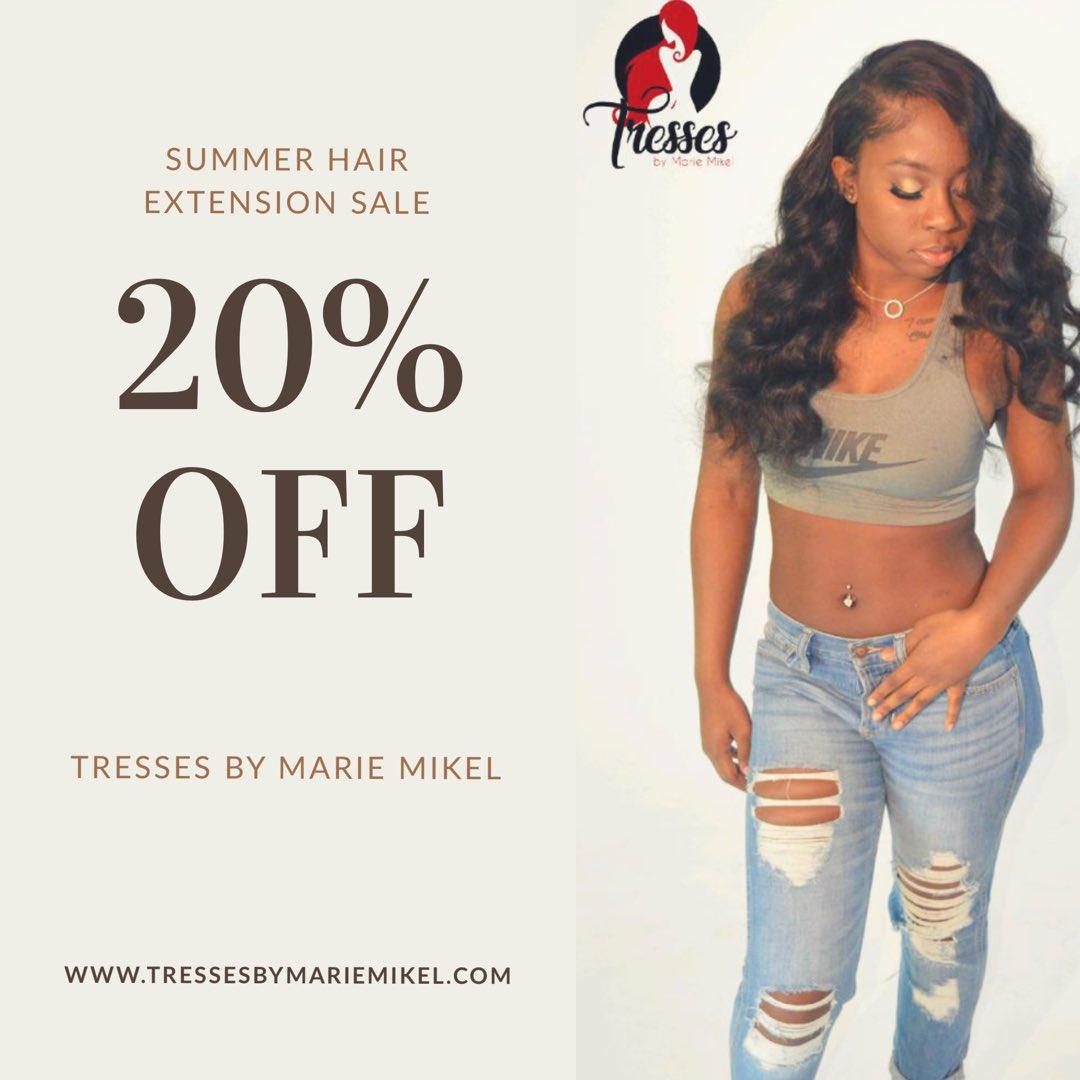 Tressesbymariemikel On Twitter Summer Hair Extension Sale Going On