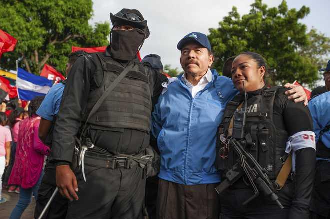 La Casa Blanca condena la feroz represión de las protestas en #Nicaragua #EEUU #WhiteHouse