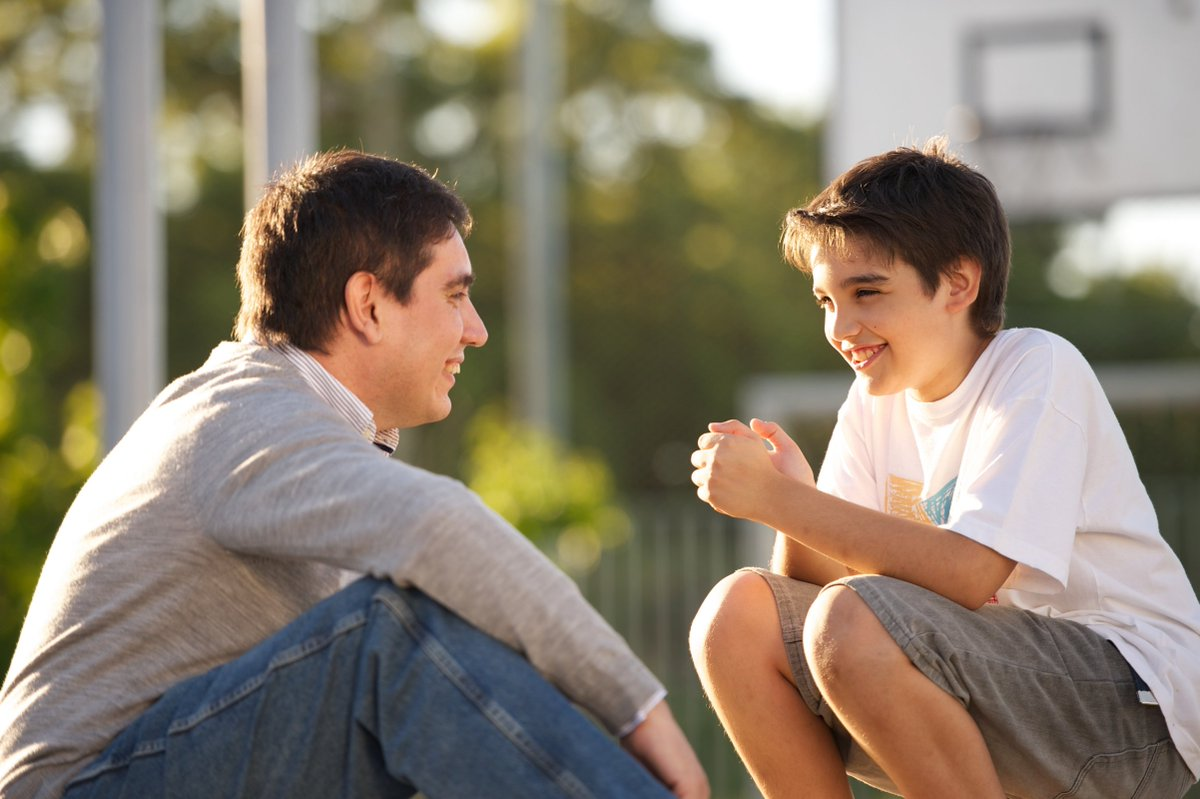 Can you identify two characteristics of a healthy father & son relationship? #MakeaMoment #fatherhood