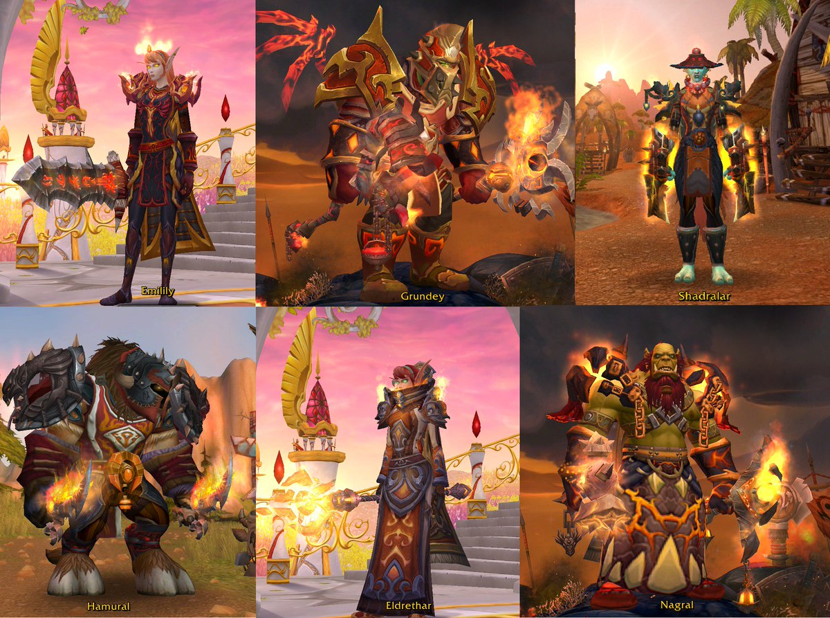Share Your War Of Thorns Transmog