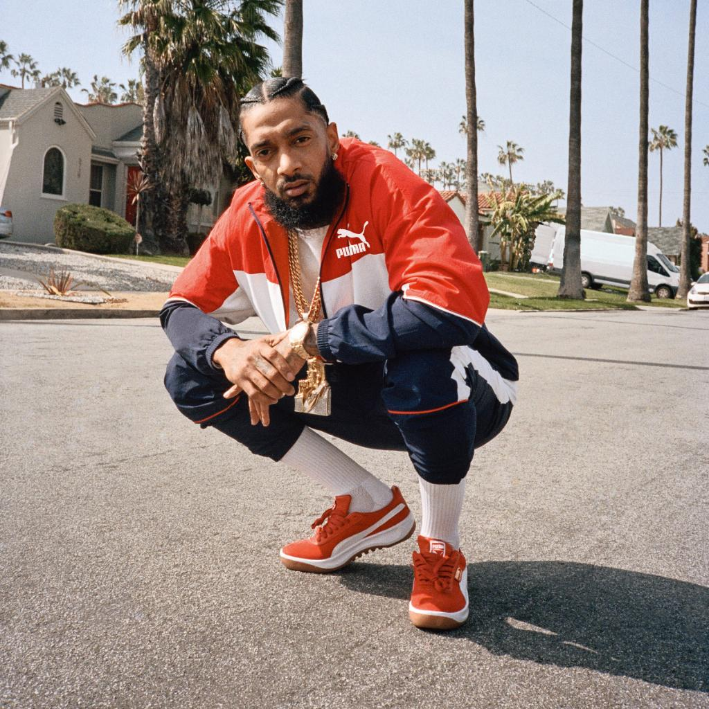 Los Angeles @nipseyhussle Puma GV