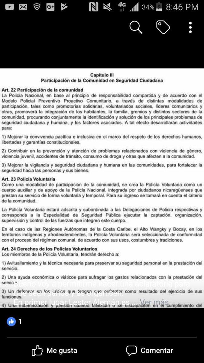 policía voluntaria .. #concluraccionnica