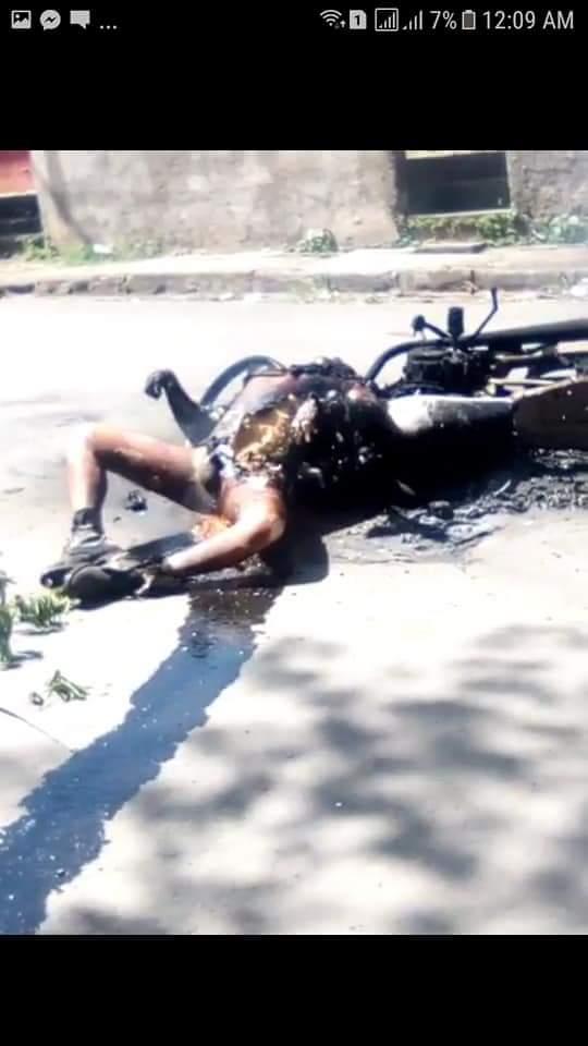 matan a sandinista en los tranques de Jinotepe... #conclureacciónnica