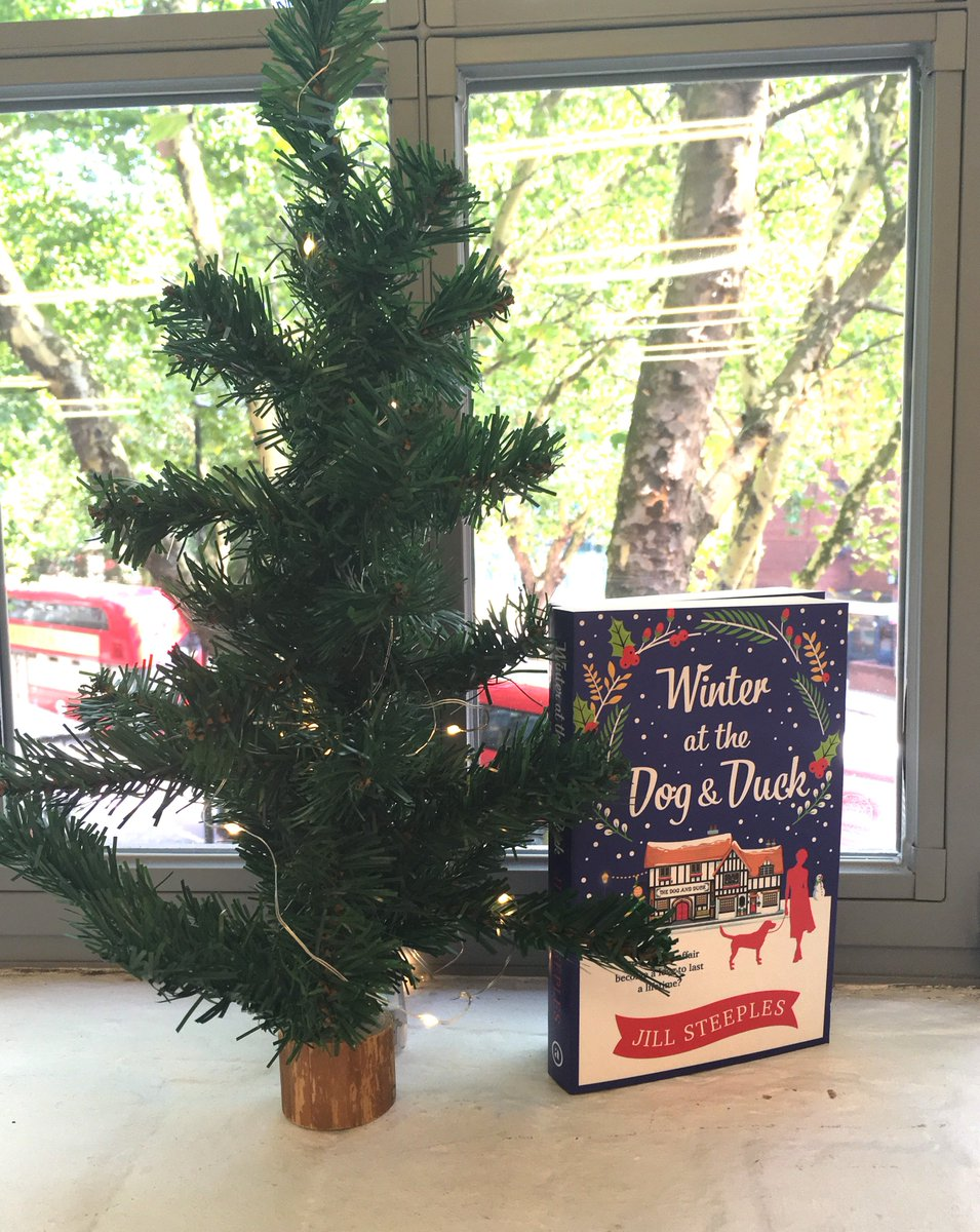 It&#39;s #ChristmasinAugust AND #Friyay today!   We have two fabulously festive Jill Steeples paperbacks to #giveaway in celebration of HAPPILY EVER AFTER AT THE DOG &amp; DUCK, publishing in October! All you have to do is RT &amp; Follow us by the end of today to enter!  #win #freebie<br>http://pic.twitter.com/9Z8AzCsJBI