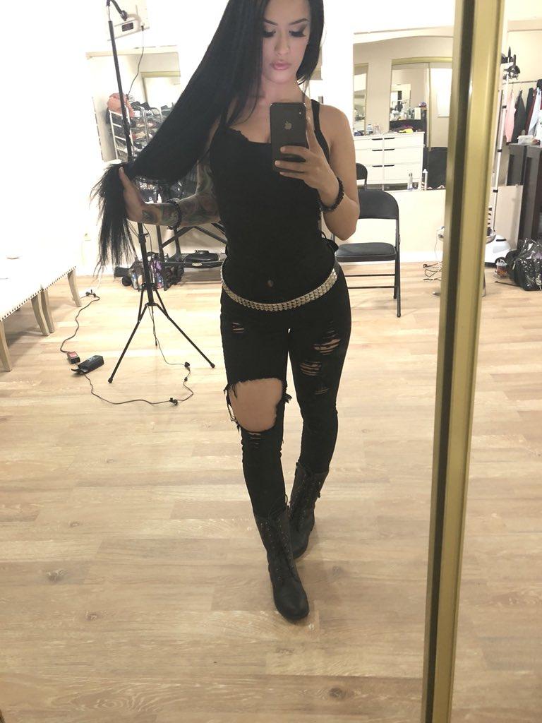 Katrina Jade  - When you're twitter @kj_fetishmodel