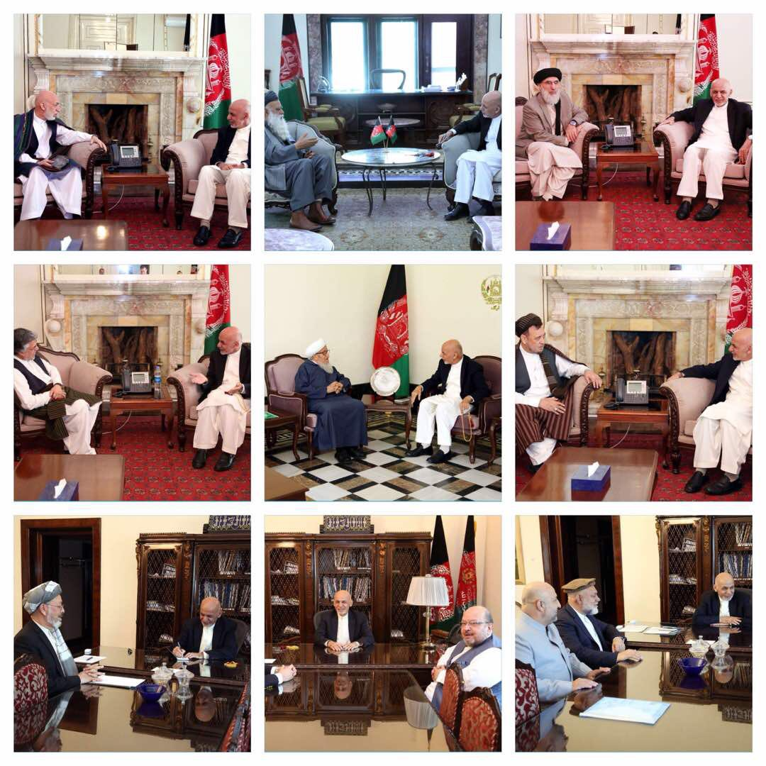 As part of my continuous consultations with major political parties and jihadi leaders, this week I had the opportunity to take them into confidence about peace process, upcoming elections and other issues of national importance. #Afghanistan