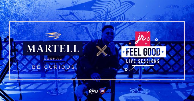 View image on Twitter  JR's 'Feel Good Live Sessions' Partners With Martell Cognac & Announces New Collaboration Album On The Way Dj IBNmXgAA1bTu format jpg name small