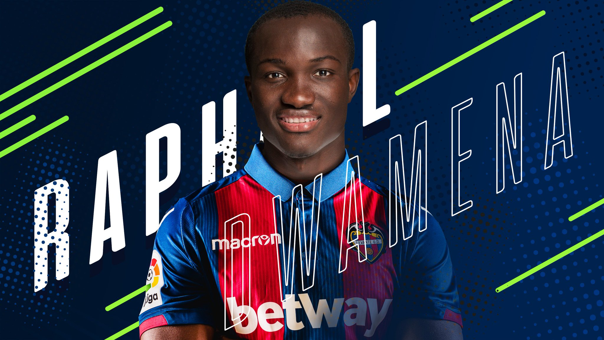 OFFICIAL: Spanish top-flight side Levante sign Ghanaian striker Raphael Dwamena