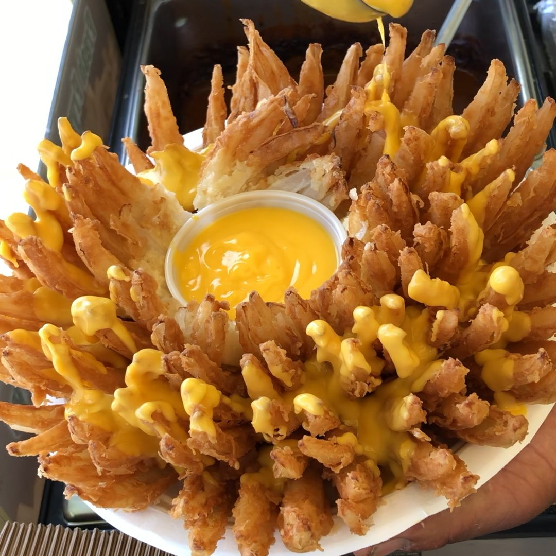 This deep-fried dish can be found at the annual @ocfair 🎡