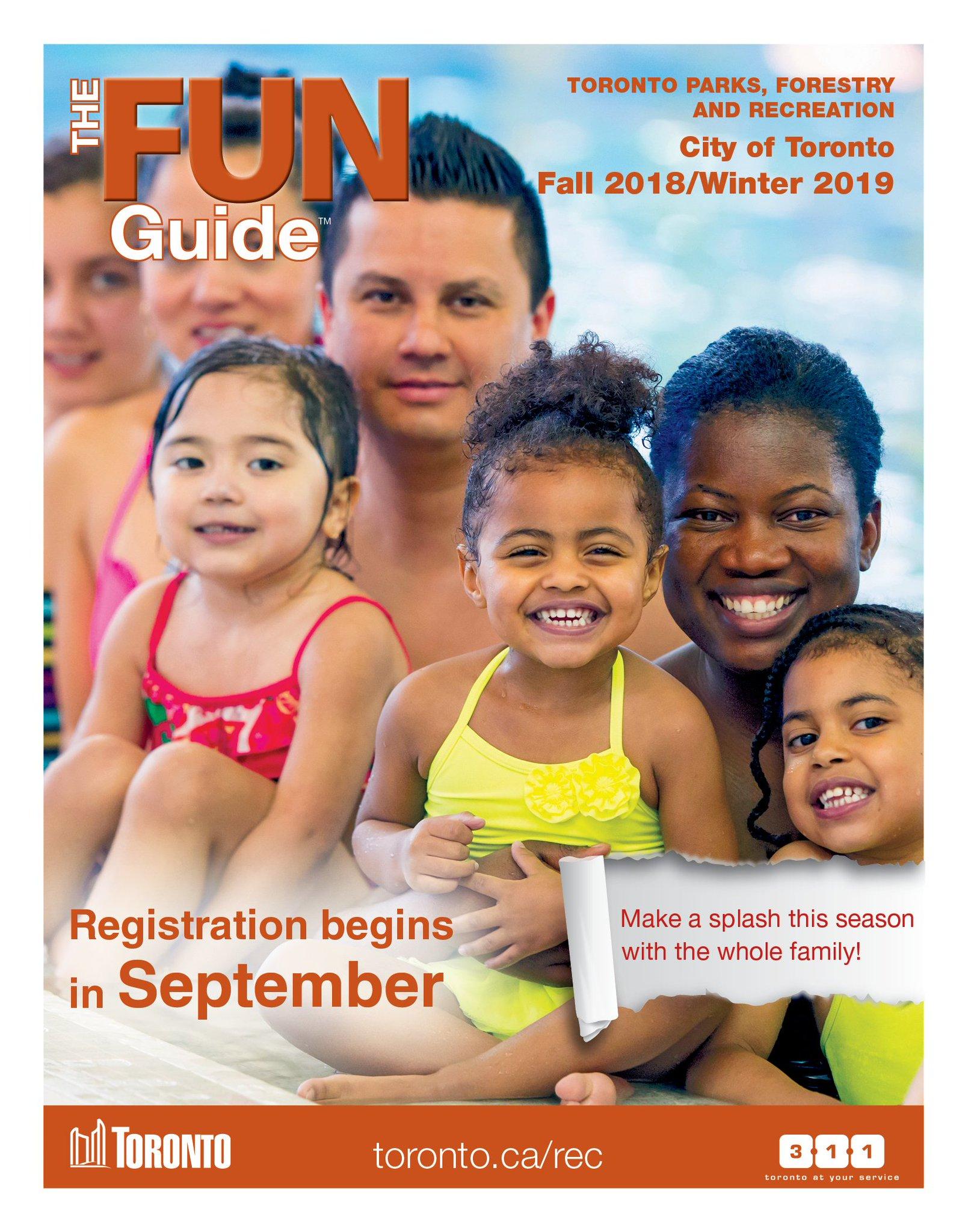 City of toronto fall & winter 2015/16 program registration.