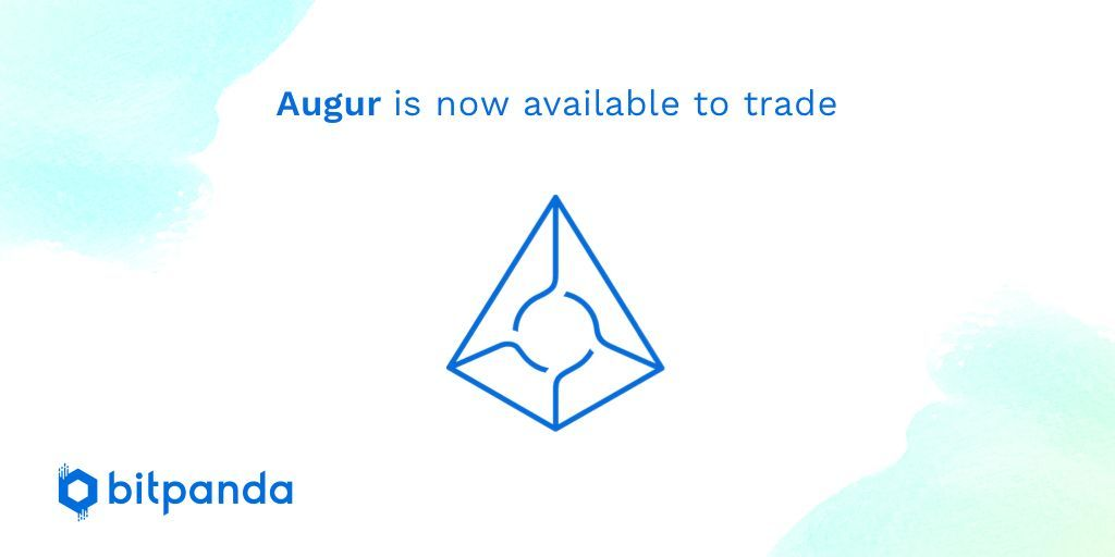 We're happy to announce that @AugurProject is now available to trade on Bitpanda! Start buying and selling $REP by heading to bitpanda.com #bitpanda #augur